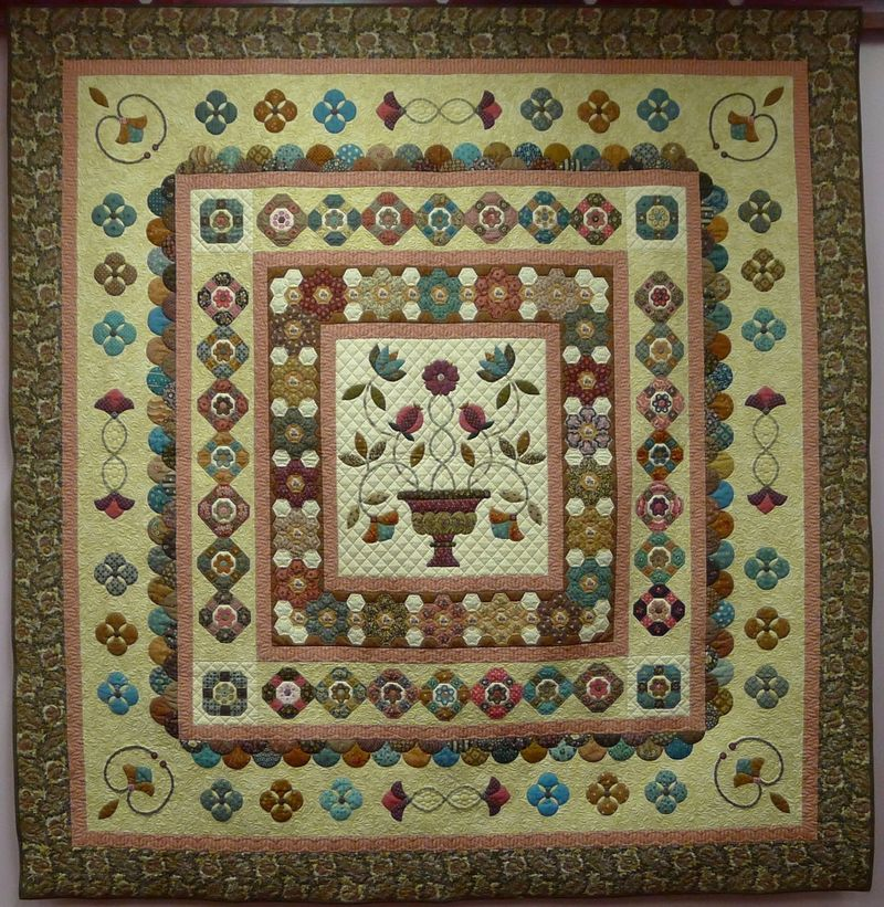 Longbourne whole quilt