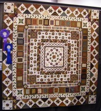 19th Century Medallion Frame Quilt
